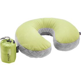 Cocoon Air Core U-vormig Nekkussen Ultralight, wasabi/grey